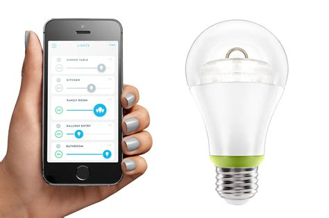 Smart Light Bulbs by Ge Joins The Smart Lighting Unveils Its Own