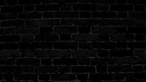 Dark Brick Wall by