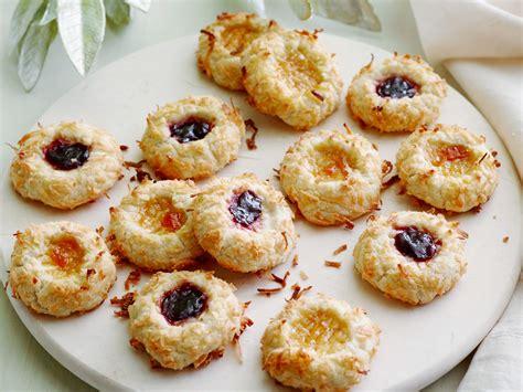 cookie recipe jam thumbprint cookies recipe ina garten food network
