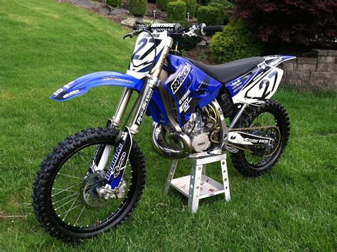 best 250 2 stroke motocross bike 2005 yz 250 2 stroke tyler casper 27 s bike check