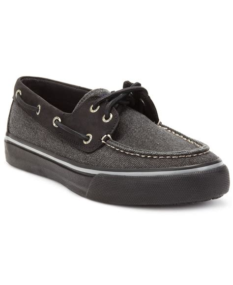 tommy hilfiger men s pharis canvas boat shoes sperry top sider men s bahama 2 eye heavy canvas boat