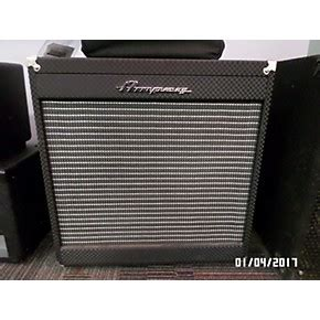 Used 2x10 Bass Cabinet by Used Eg Pf210he Portaflex 2x10 Bass Cabinet Guitar Center