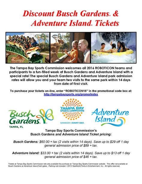 Busch Gardens Discount by Busch Gardens Discount Tickets For Florida Residents 28