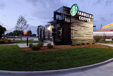 Fast Food Restaurant Floor Plan An Experimental New Starbucks Store Tiny Portable And