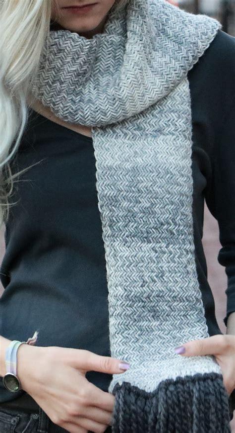 knitting pattern herringbone scarf herringbone knitting patterns in the loop knitting