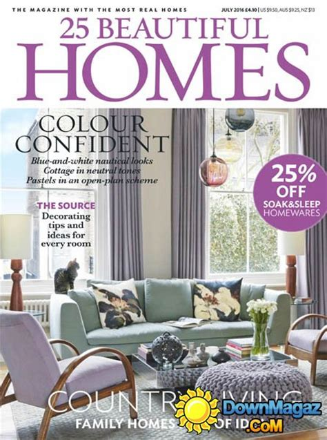 beautiful home design magazines 25 beautiful homes july 2016 187 download pdf magazines