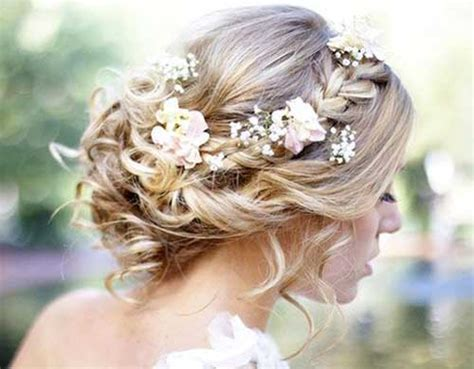 formal hairstyles with flowers 15 braided updos for long hair long hairstyles 2016 2017