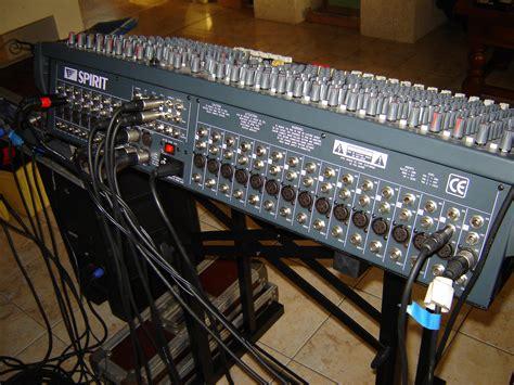 Mixer Lx7 soundcraft spirit lx7 24 image 402545 audiofanzine