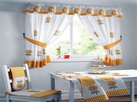 kitchen curtains design ideas home design and decoration