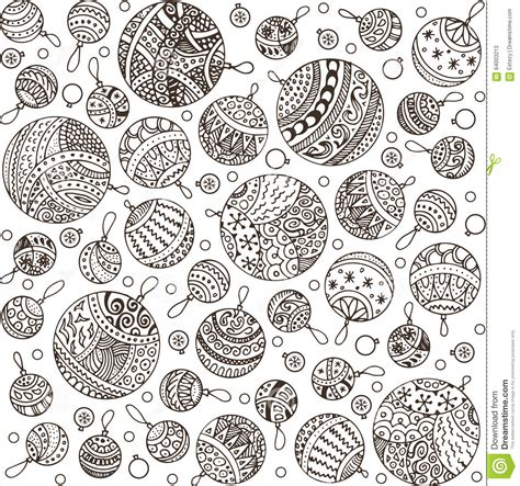 pattern ornament font merry christmas balls doodle pattern santa claus cartoon