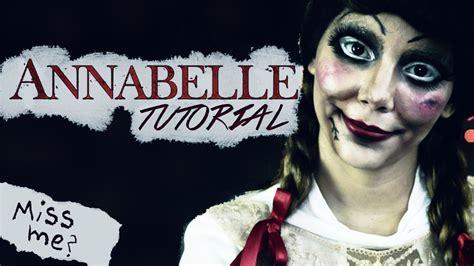 imagenes halloween disfraz tutorial maquillaje para halloween de mu 241 eca annabelle con
