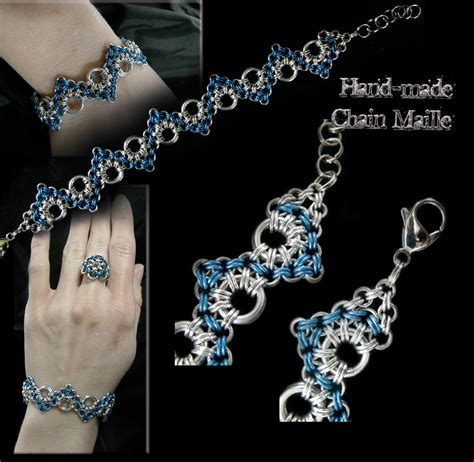how to make chainmaille jewelry zig zigs bracelets and anklets theringlord forum