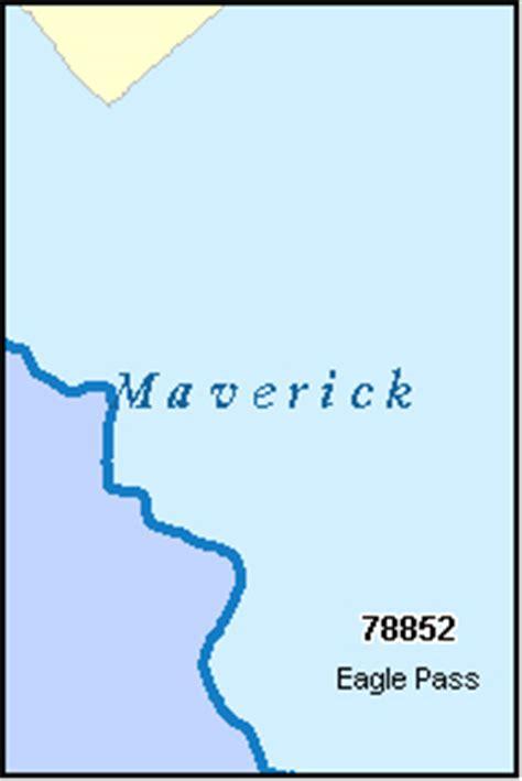maverick county texas map maverick county texas digital zip code map