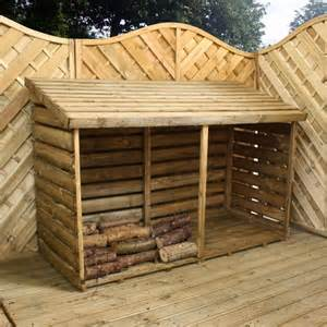 Free Woodworking Plans For Storage Beds by 6 X 3 Waltons Double Timber Log Store