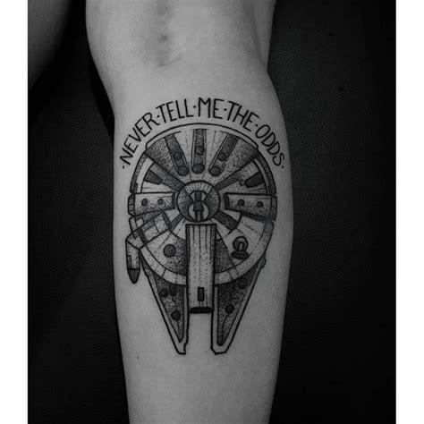 millennium falcon tattoo millenium falcon for eliza feliz como tatuador e f 227