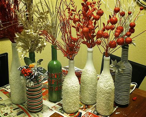 home decoration things repurposed glass bottles into creative decorations