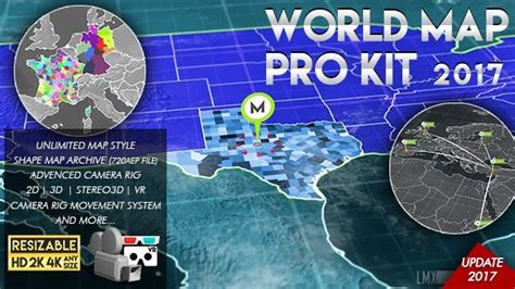 Videohive 3d World Map Pro Kit Free Download Free After Effects Template Videohive Projects 3d Globe After Effects Template