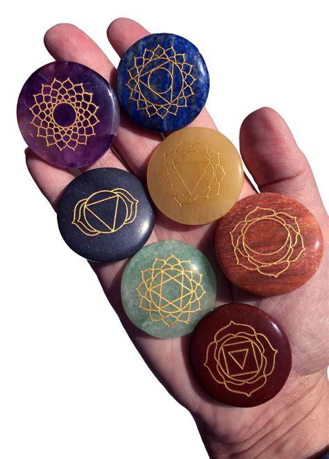 chakra balancing set   reiki stones chakra chakra