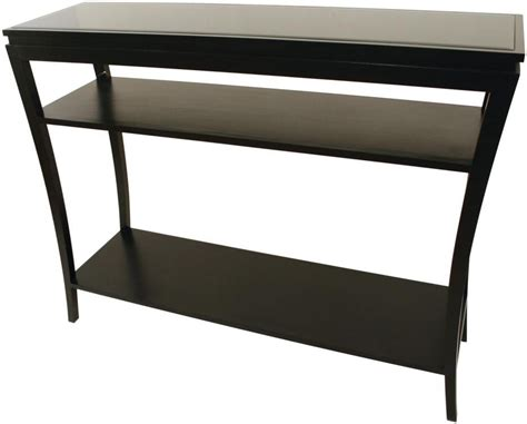 shelves for consoles black console table shop for cheap tables and save