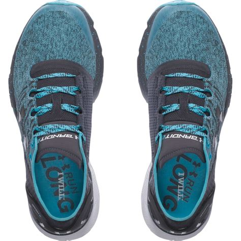 Armour Blue Grey armour women s charged bandit 2 running shoes blue