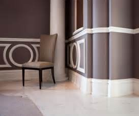 Two tone paint colors stair chair rail paint color ideas living room