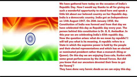 Best Essay On Republic Day Of India by Happy Republic Day 2016 Speech Images In Jan 26