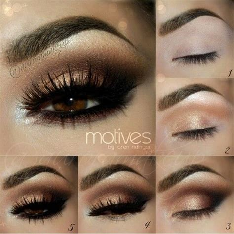 simple makeup for new year 25 best ideas about bronze smokey eye on