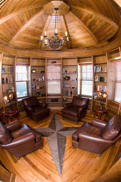 what is room in circular library in a turret traditional home office toronto by touch custom
