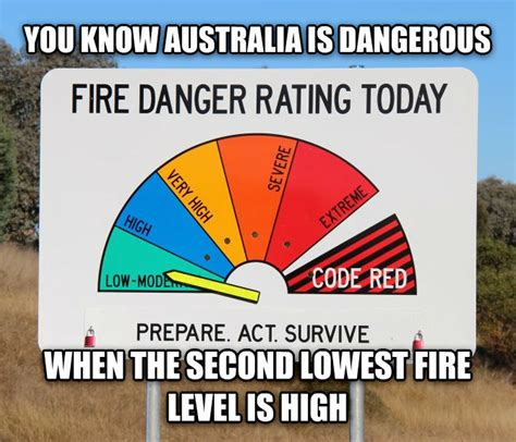 Australian Meme - you know australia is dangerous when weknowmemes