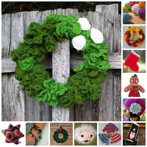 19 crochet christmas ideas allfreechristmascrafts com