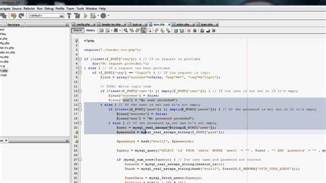 tutorial php ajax jquery netbeans php jquery tutorial ajax login 9 youtube