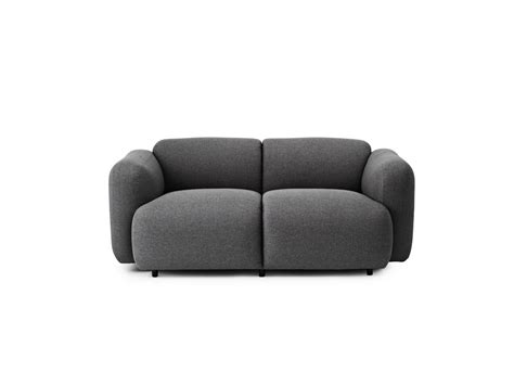 curved two seater sofa buy the normann copenhagen swell two seater sofa at nest co uk