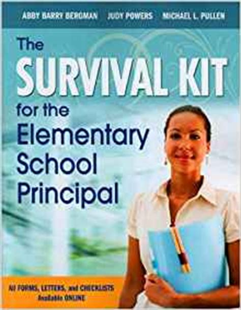 Kit Sx 686 By Harco Audio the survival kit for the elementary school principal text