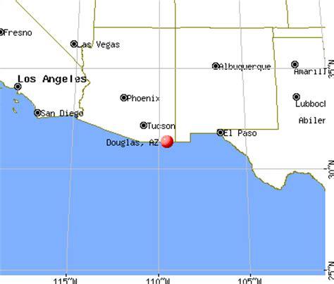 map of douglas arizona douglas arizona az 85607 85608 profile population