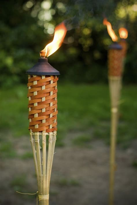 25 best ideas about tiki torches on wine