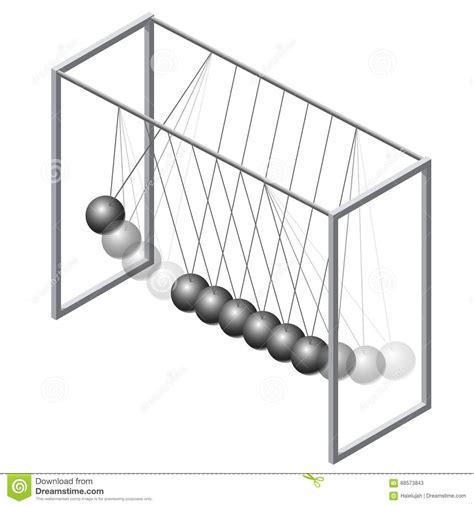 newton swing vector newton swing isometric pendulum cradle metal bolls