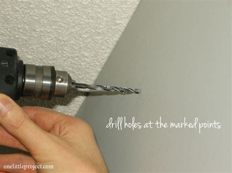 install curtain rod drywall how to install a curtain rod with pictures