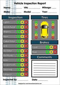 free vehicle inspection sheet template free printable vehicle inspection form shareitdownloadpc