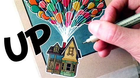 Drawing Up by Let S Draw The House From Up Fan Friday