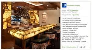 onyx and backlighting bar top ideas bars