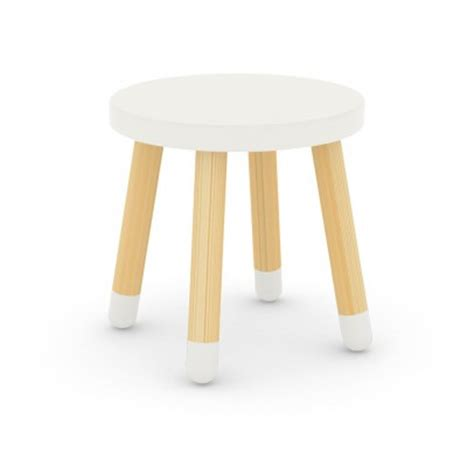 Child Pale Stool by Sheep Chair In Oak And Beechwood By Takeshi Sawada White Eo