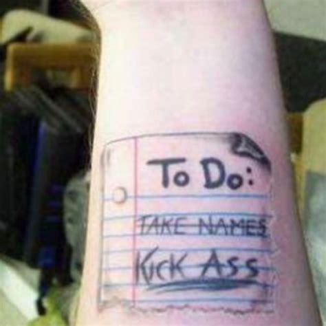 tattoo name list funny ass names big tits fat