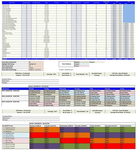 schedule maker excel template excel templates page 3 of 15 free excel templates