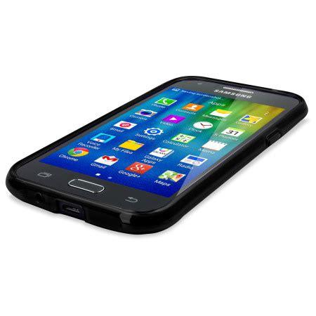 Samsung J1 2015 Slim Armour flexishield samsung galaxy j1 2015 gel black