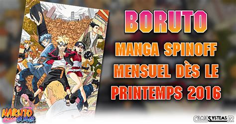 boruto jump festa jump festa 16 boruto next generation le manga spinoff