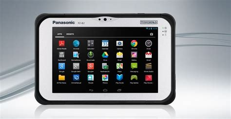 most powerful android tablet panasonic toughpad fz b2 has fanless design is the company s most powerful android tablet