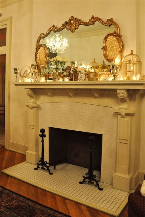Vintage Mantle Decorations
