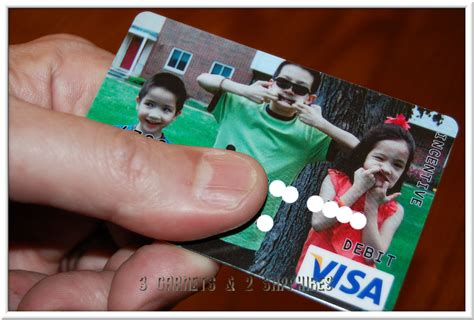 Visa Gift Card With Picture - 3 garnets 2 sapphires customize a visa gift card with a photo plus a personalized