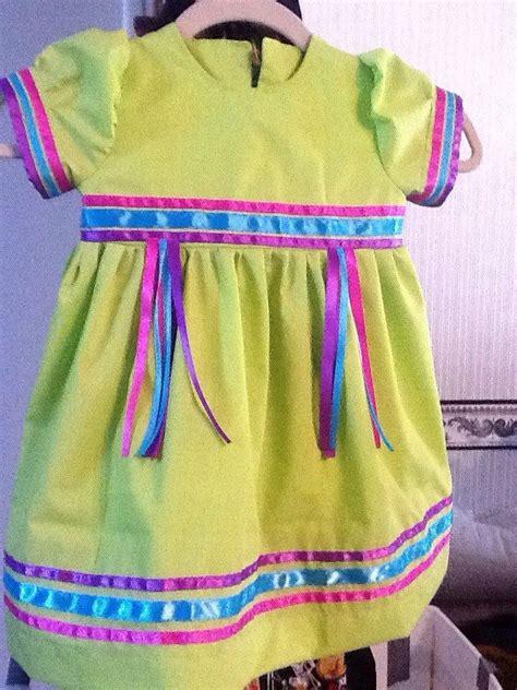 toddler pow wow ribbon dress by pita macias pita s indigenous crafts santa ynez chumash