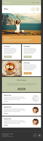 E Newsletters Templates by Newsletter Templates Free Email Templates Cakemail